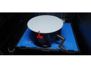 Fully 3D-printable turntable - Upgrades