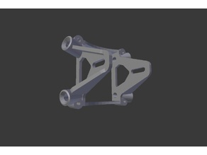 FlyPurrz Purrz.75 FPV Kamerahalter für 3D-Druck-Rumpf / FPV Camera Mount for 3D-printed-body