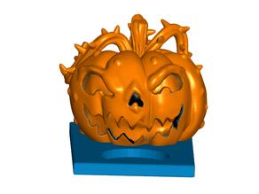 Halloween Pumpkin Tealight Candle Holder
