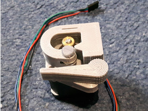 Extruder Bowden ReprapMJ Type   Mostly Printed and Easy to Make and Use