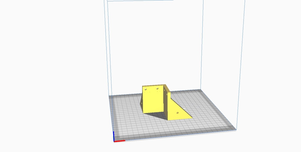 Lack Enclosure uprights riser without base