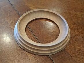 Bowling ball ring