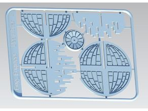 Death Star 2 Kit card