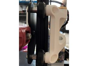 Ender 3 dual Z axis REMIX freely moving rollers
