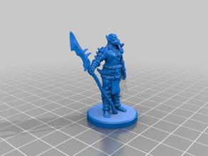 Orc Spearman Pose 2