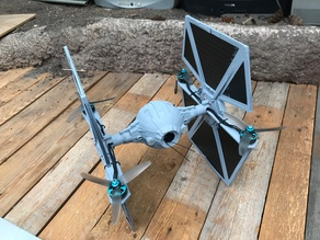 Tie Fighter (Quadcopter)