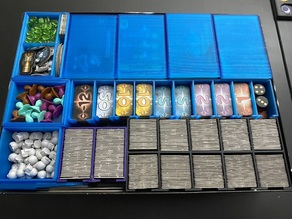 Galaxy Trucker - Insert / Organizer - Fits all expansions - Sleeved
