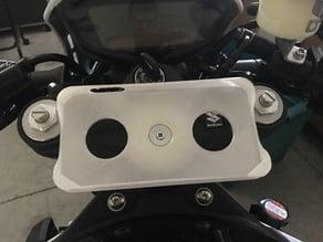 Suzuki SV650X iPhone 6 Plus holder system