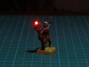 Dark Elf Sorcerer LED 28mm (FDM, no supports)