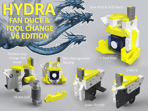 Hydra Fan Duct & Tool Change V6 Edition
