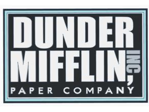 Dunder Mifflin Inc Logo HD