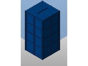 Openscad Doctor Who Money box