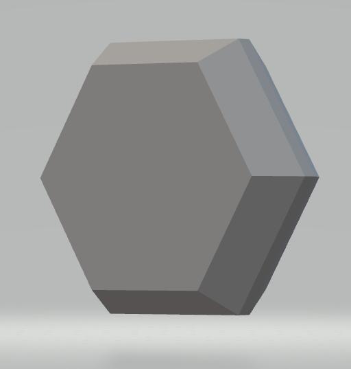 Blank Polyhedral RPG Die, d2
