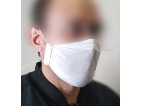 Coronavirus covid-19 mask frame