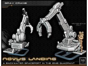 Hover Cargo Crane - 28-32mm Gaming - Novus Landing