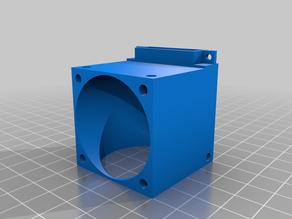 Dual 40mm fan to single blower