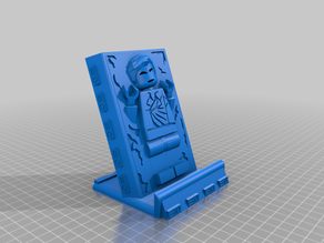 Lego mini figure Han Solo Phone stand