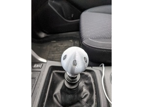 Shift Knob Remix for Reverse Lockout Shifters no logo