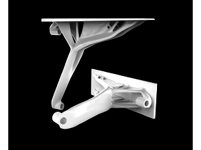 Generative shelf bracket ( Heavy duty)