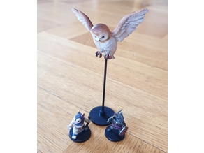 Owl with base (Mice & Mystics)