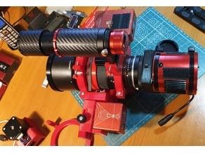 Samyang 135mm f/2.0 ED and 85mm f/1.5 UMC VDSLR for astronomy with  EAF