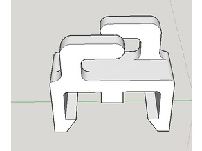 20mm T-slot wire holder/clip