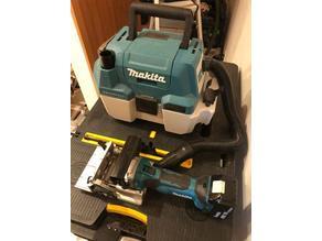 Hose Adapters for Makita Cordless Vacuum XCV11 18v to Various Tools