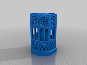 Fancy Functional Dice Tower Terrarium Planter Decor
