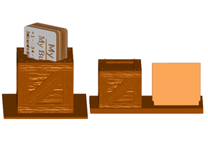 Crate Business Card Holder  (2 Styles)