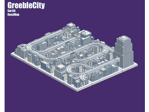 GreebleCity Set 06: Road Map