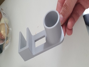 Paper Towel Holder for 15mm cabinets/counters/shelves