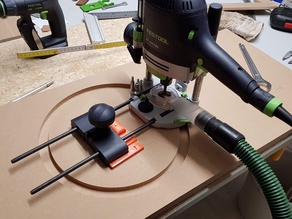 Festool Router circle jig