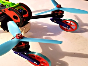 Drone Wheels With Suspension