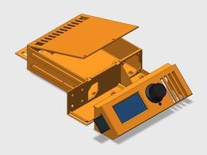 SKR 1.3 + Fysetc Mini12864 case for Ender 3