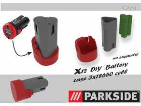Parkside and Einhell 12v battery case