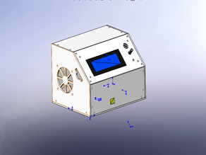Tevo Tarantula electronic box (mks base 1.4 + RepRapDiscount Smart Controller)