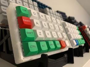 Single and Triple Mechanical Keyboard Display Stand