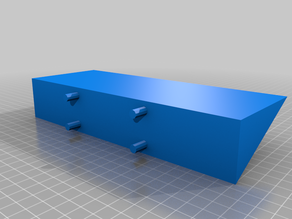 My Customized Pedestal Shelf for PegboardsSwitch shelf