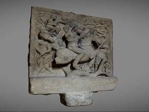 Thracian votive bas relief