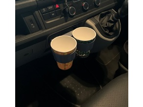 VW T6 Dash Centre Drink Holder Cubby Hole Insert