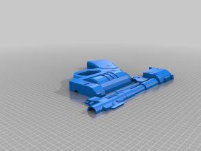 Star Wars DE-10 Blaster, No Scope
