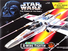 Star Wars X-Wing Fighter (POTF 1995) Laser Cannon Replacement