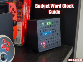 Budget RBG Word Clock