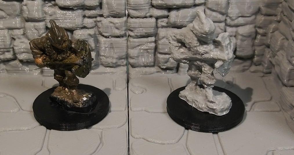 Replica of Grenadier Specialists 2006 #8 Miniature