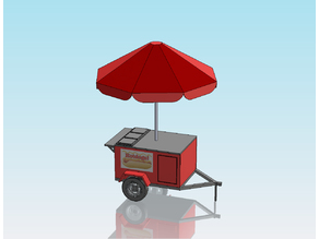 1:32 SCALE HOT DOG STAND