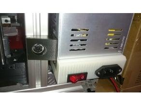 Rebel II PSU Holder & Case [3030 Extrusion]