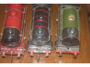 02.Hornby O Gauge Locomotive Buffers
