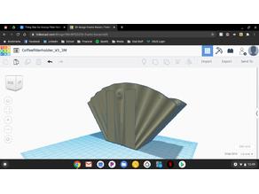Groovy Filter Holder for 3M strips
