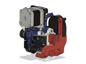 Ender 5 Direct Drive Stock Hotend and Extruder