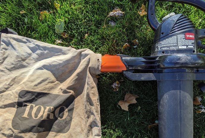 Toro Super Blower Vac Bag Attachment